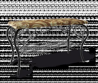 Банкетка Изабель 1, черная, Катерина