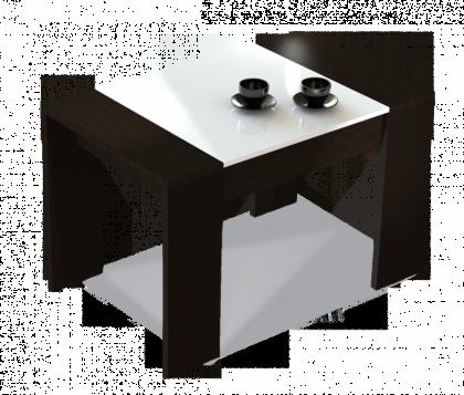 Журнальный столик модель 5, черный, белый
