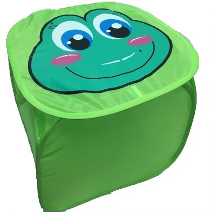 Корзина для игрушек лягушка