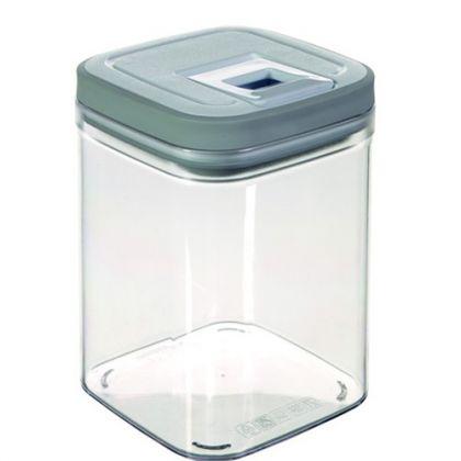 Контейнер для сыпучих продуктов 1,3 л, серый