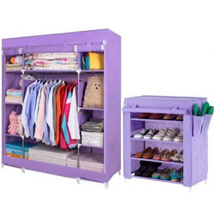 Комплект шкафов, фиолетовый