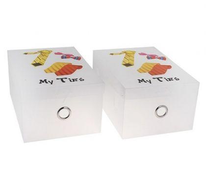 Коробка для хранения галстуков