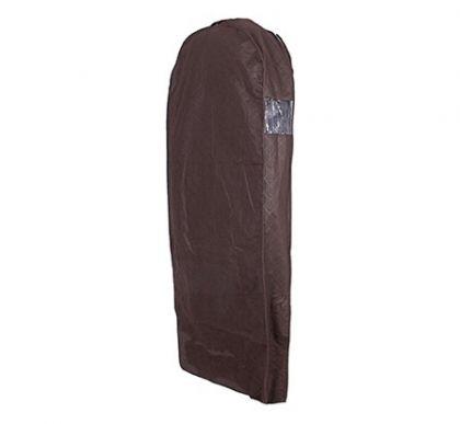 Чехол для хранения зимней одежды коричневого цвета