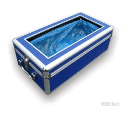 Бахилонадеватель CG-HB2, синий