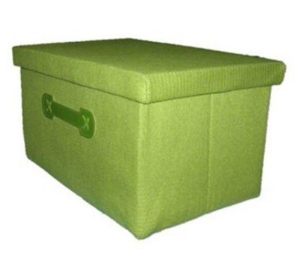 Ящик прямоугольный L, зеленый