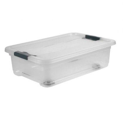 Ящик для хранения с колесами Кристал 28л
