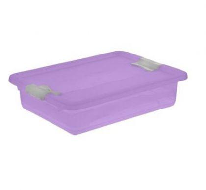 Ящик для хранения Кристал 7л промо, фиолетовый