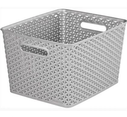 Ящик для хранения плетеный L, разные цвета