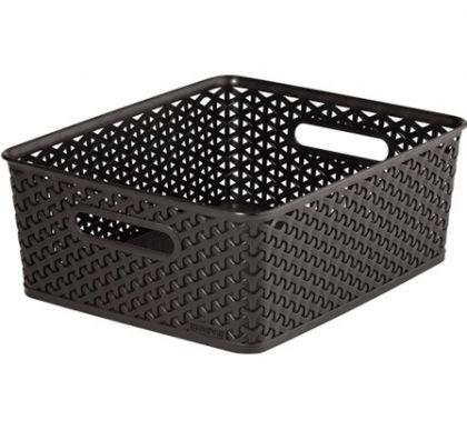 Ящик для хранения плетеный M, разные цвета