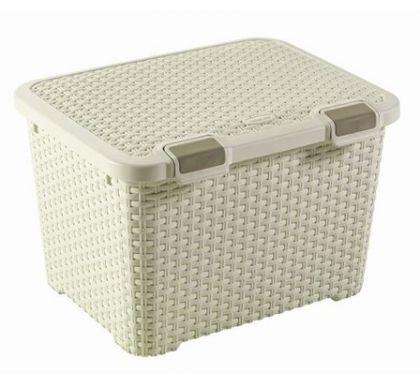 Ящик для хранения средний Раттан, разные цвета