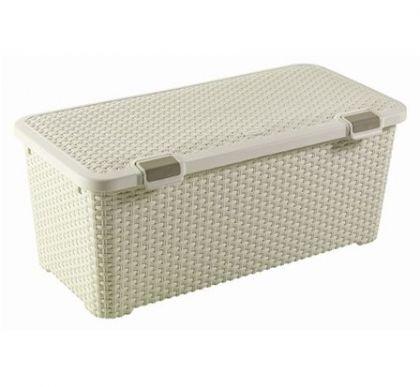Ящик для хранения большой Раттан, разные цвета