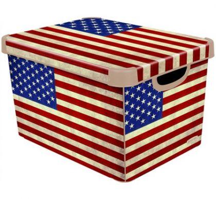 Ящик для хранения флаг США L