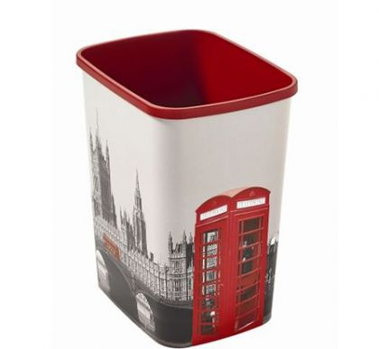 Корзина для мусора без крышки Лондон 25л