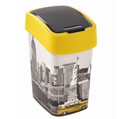 Корзина для мусора с крышкой Нью Йорк 25л