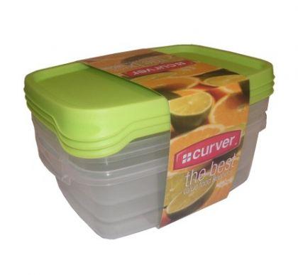 Набор контейнеров для микроволновой печи 3 шт 1,2л