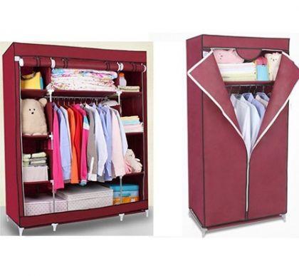 Комплект из 2х шкафов, бордовый