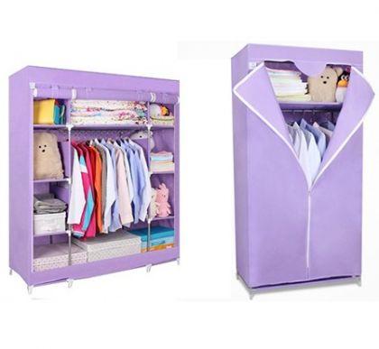 Комплект из 2х шкафов, фиолетовый