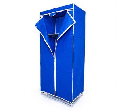 Тканевый шкаф Кармэн, синий