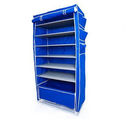 Тканевый шкаф Элис Макси, синий