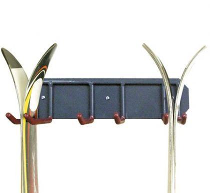 Держатель для хранения двух пар лыж