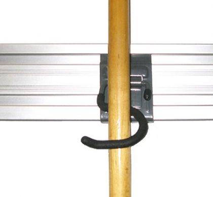Держатель одинарный S-образный для инструмента с длинной рукояткой