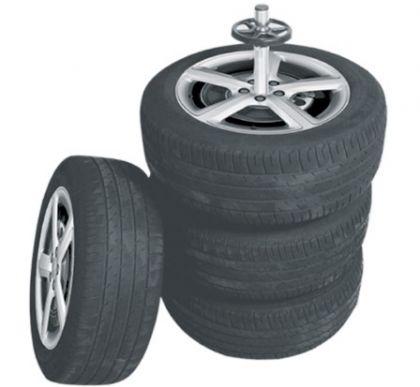 Стойка для хранения колес, передвижная