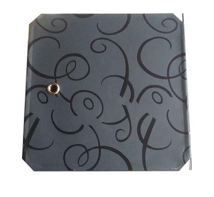 Дверь для кубического шкафа, детская 35х35см, черный орнамент