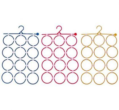 Вешалка-органайзер для шарфов, галстуков, платков, цвета в ассортименте