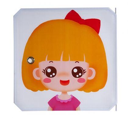 Дверь для кубического шкафа, детская 35х35см, Девочка