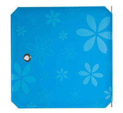 Дверь для кубического шкафа, детская 35х35см, синий орнамент