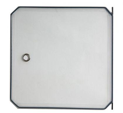 Дверь для кубического шкафа, детская 35х35см, белый матовый