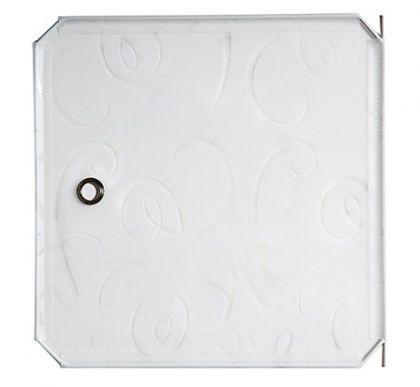 Дверь для кубического шкафа, детская 35х35см, белый орнамент