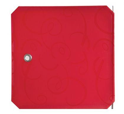 Дверь для кубического шкафа, детская 35х35см, красный орнамент