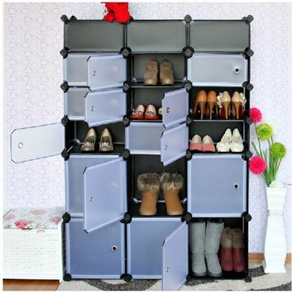 Шкаф для обуви из 18 кубов