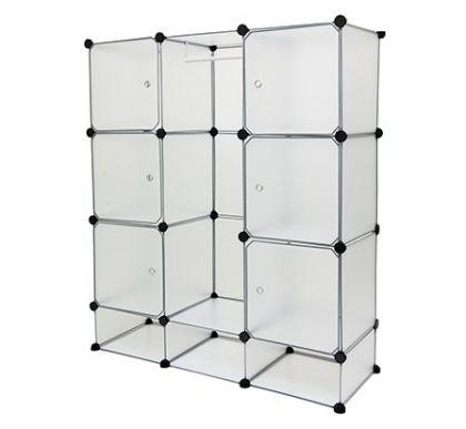 Шкаф модульный из 12 кубов