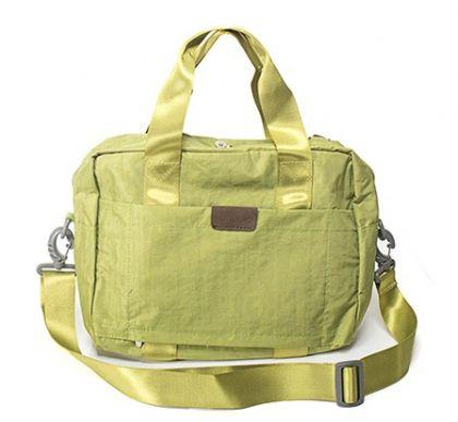 Большая складная сумка, зеленая