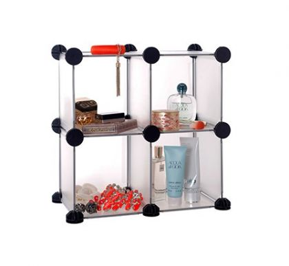 Шкафчик из кубов настольный 4 секции