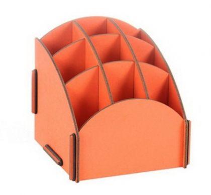 Органайзер на стол 9 ячеек оранж