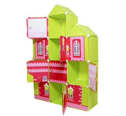 Детский модульный шкаф Домик 2