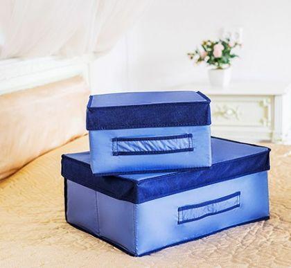 Комплект коробок для вещей Blue sky