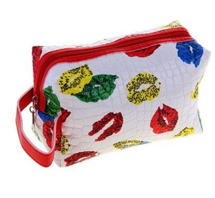 Органайзер для сумки Поцелуйчики, белый