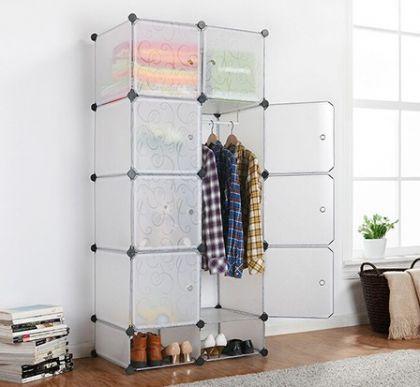 Кубический шкаф Кармен, прозрачный