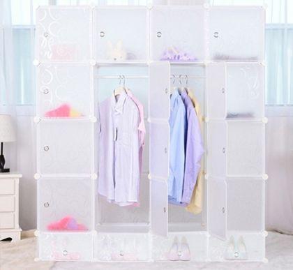 кубический шкаф Маджорити, прозрачный